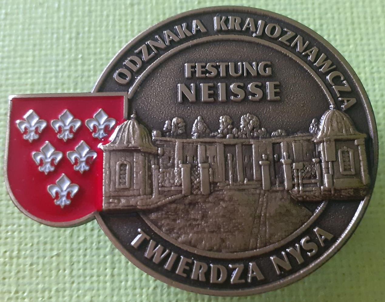 Odznaka Krajoznawcza Twierdza Nysa