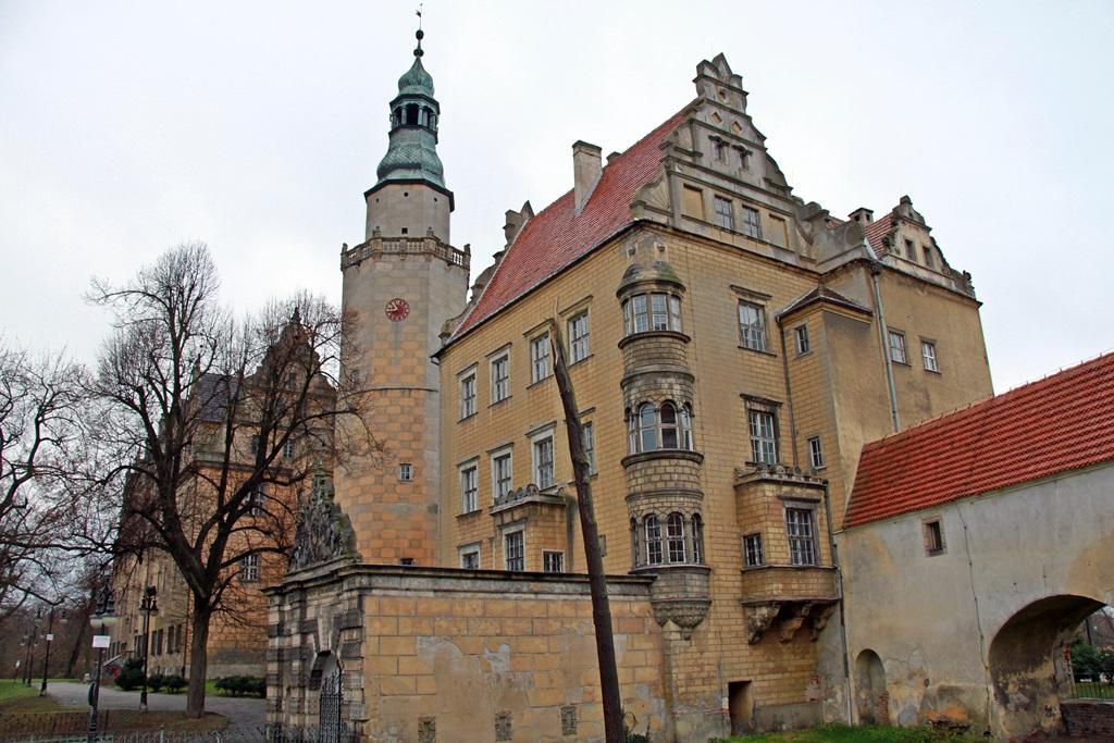 Zimowe wędrówki krajoznawcze - zamek w Oleśnicy