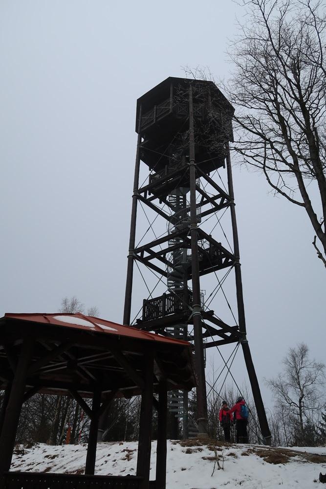 Markousovicky Hreben - wieża